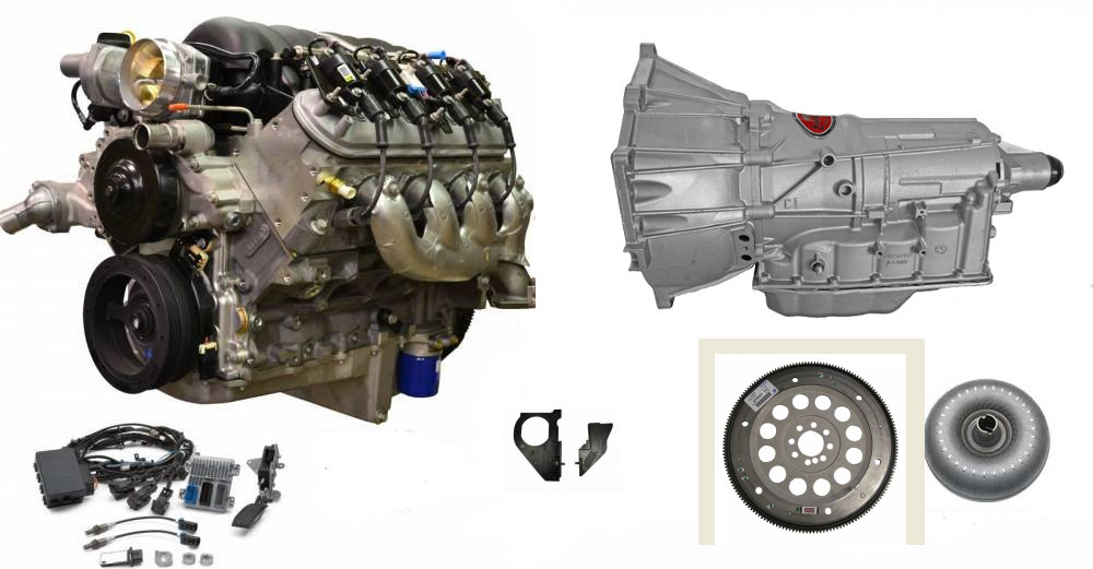 Engine And Transmission >> Chevrolet Performance Ls3 6 2l 525hp Engine